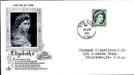 "1954 Elizabeth ""Art Craft"" cachet, Ste. Rose 2 cent FDC - $5.89"