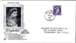 "1954 Elizabeth ""Art Craft"" cachet, Ste. Rose 4 cent FDC - $5.89"