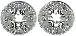 Colorado Retail Sales Tax Token - $4.90