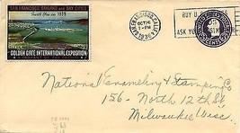 1936 National Enameling / Golden Gate Expo stamp - $5.89