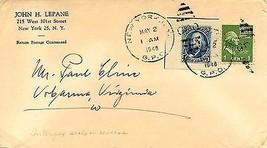 1948 John H. Lepane & Interpex seals - $5.89