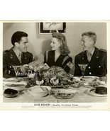 Julie Bishop Thanksgiving Turkey Servicemen Warner Bros. Original Photo - $9.99