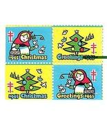 1965 Block of 4 Christmas Seals (lower-left cor... - €1,98 EUR