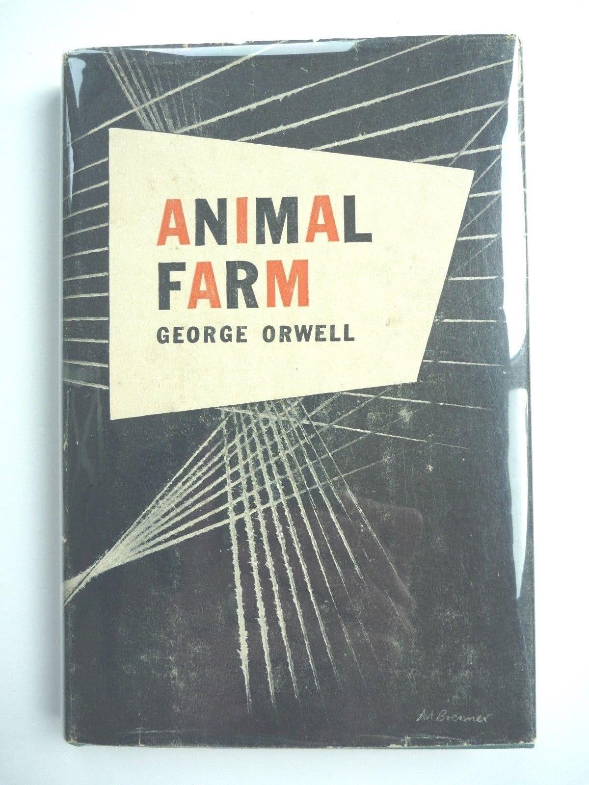ANIMAL FARM by GEORGE ORWELL 1946 HC EDITION w/ JACKET