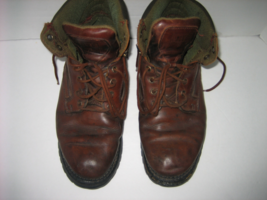 "FRYE ""Rockville"" Men's Brown Leather Work & Casual Lace-up Ankle Boots, ... - $62.00"