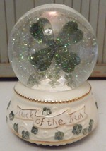 SAN FRANCISCO MUSIC BOX CO~IRISH EYES SMILING~LUCK OF~MUSICAL~LIGHT~WATE... - $23.36