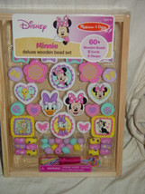 Disney Melissa & Doug Minnie Deluxe Wooden Bead Set - $14.00