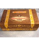 """Vintage Breast-O-Chicken Tuna, """"The Sea Chest"""" Box - $14.99"""