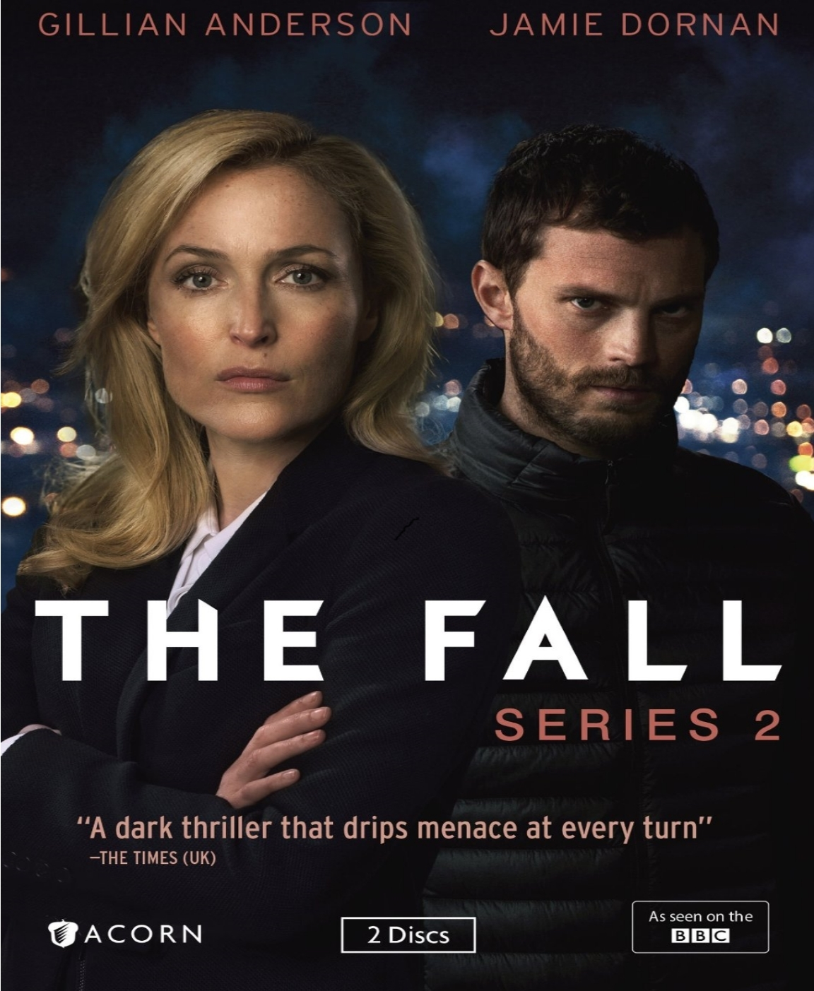 The fall second season series two 2  2 dvd  2016  wide gillian anderson  jamie dornan