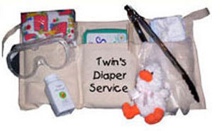 Daddy's Twins Diaper Service Aprons