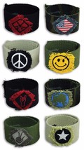 CANVAS CUFFS - One Item w/Random Color and Design