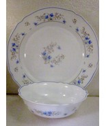 Dinner Plate, Cereal Bowl Arcopal France Romant... - $14.99