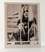 Avril Lavigne 2003 Arista records B&W 8x10  pub... - $73.26