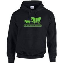 202 Died of Dysentery Hoodie Oregon video game vintage 80s computer new - $30.00+