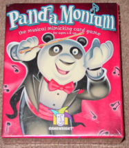 PANDA MONIUM MUSICAL MIMICKING CARD GAME 2002 GAMEWRIGHT NEW FACTORY SEA... - $20.00