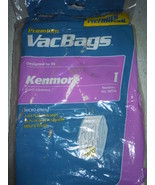Kenmore Ultra Care Allergen Canister Bags Replaces No 50570  I  8 Bags - $6.99