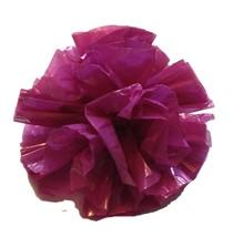 "25 Car Limo wedding Decoration Plastic Pom Poms Flower 4"" - magenta - $4.94"
