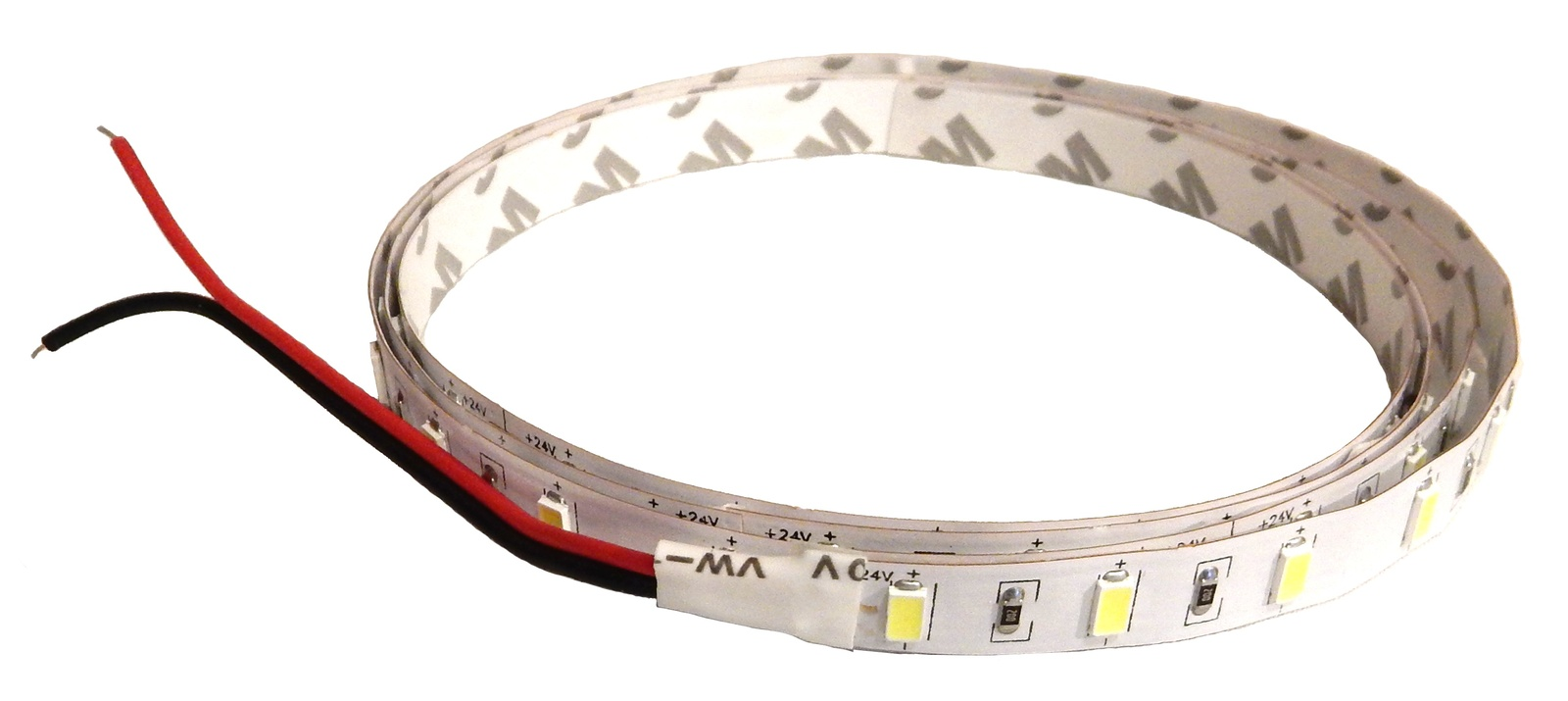 12', Hi-Lumen, Bright White, 5630 SMD, 24VDC, Hi-Efficiency LED Flexible strip