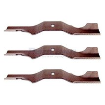 Set Of 3 Ariens Gravely Lawn Mower Blade Replaces 04265400 - $26.47