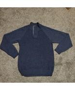 Original Weatherproof Vintage Mens XL Navy Sweater - $17.99