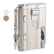 Multifunction Gas Lighter with Ultraviolet LED and Bottle Opener (GRAY) [Misc.]