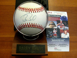 BARRY BONDS HR KING PIRATES SF GIANTS SIGNED AUTO VINTAGE ONL BASEBALL J... - $247.49