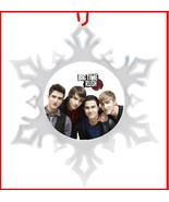 BIG TIME RUSH CHRISTMAS ORNAMENT - SNOWFLAKE ORNAMENT - X-MA - $10.99