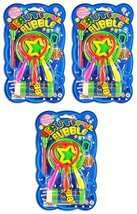 BUBBLES WITH COLORFUL BUBBLE WATER - One Set [Toy]