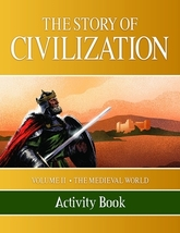 The Story of Civilization: Vol. 2 - The Medieval World (Activity Book)  - $20.95