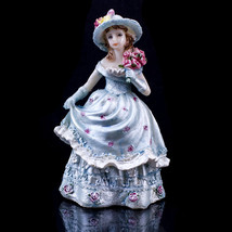 Blue Mis Quince Anos Quinceanera Figurine Statue Fifteen Party Favor Cak... - $14.01