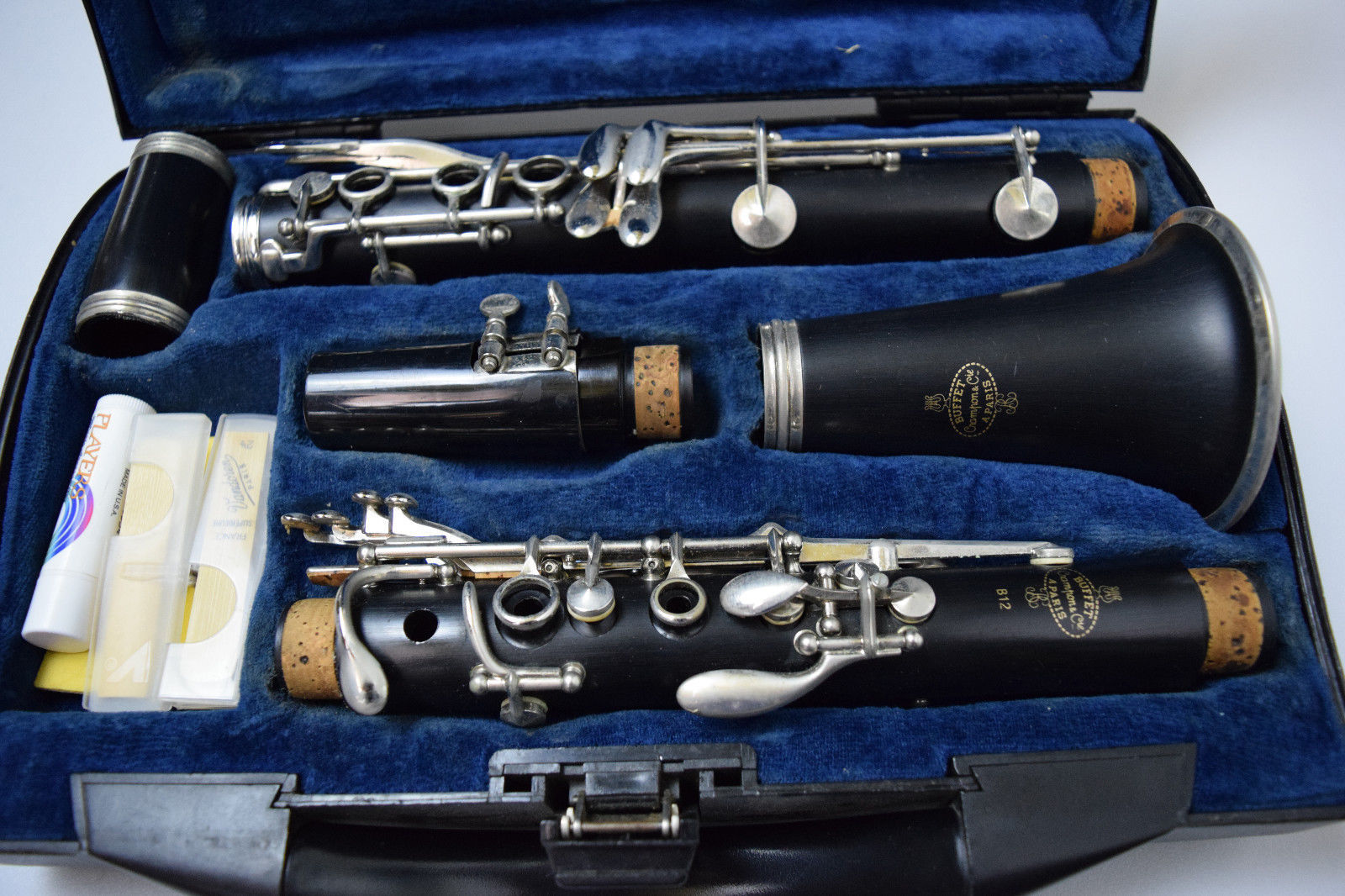 BUFFET CRAMPTON & CIE A Paris B12 Student Clarinet w/Case and Accessories