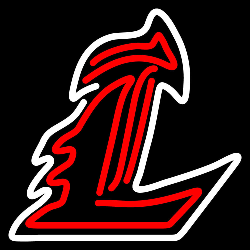NCAA Louisville Cardinals Logo Neon Sign - Neon