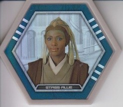 Stass Allie 2016 Topps Star Wars Galactic Connexions Common Gray Foil Disc - $0.99