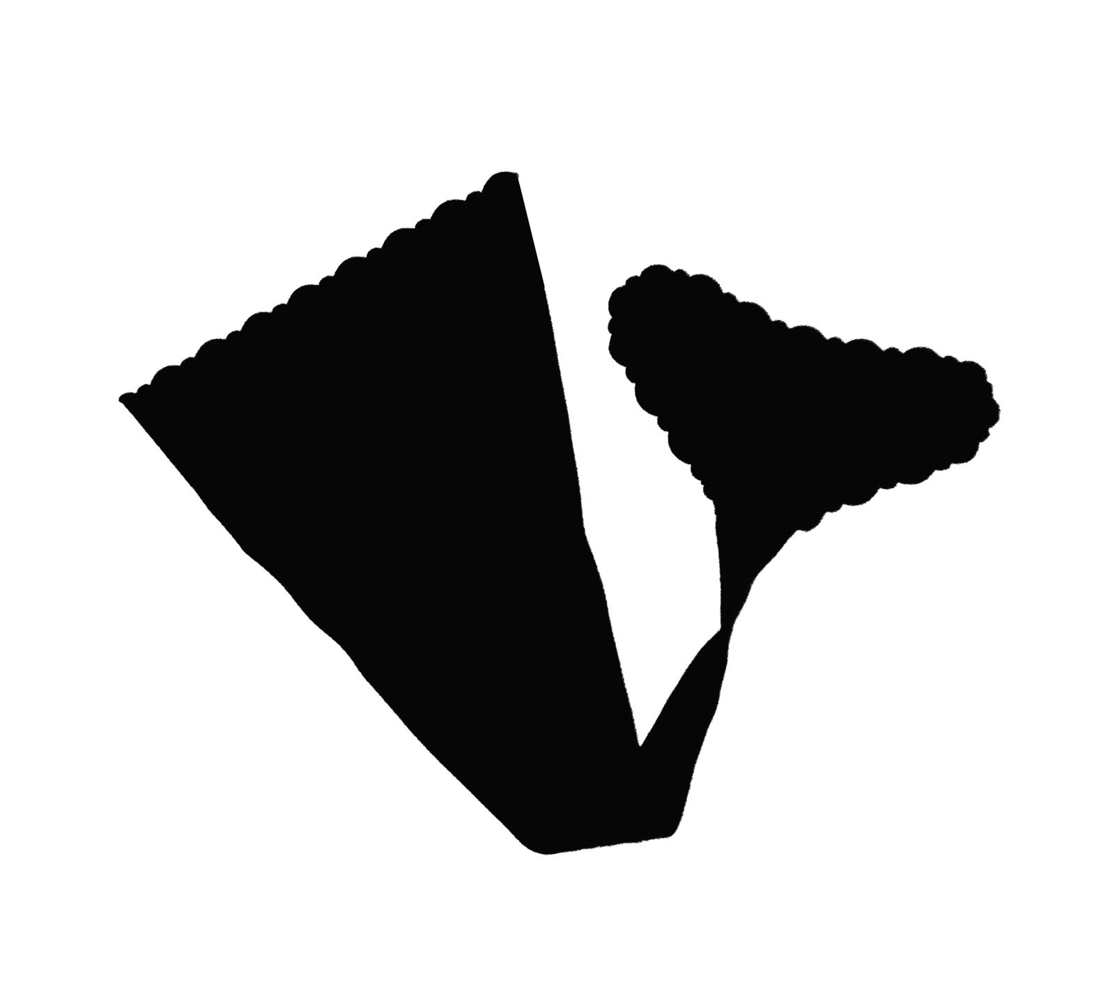 Shibue No-Line Strapless Panty (XL, BLACK) - $18.80