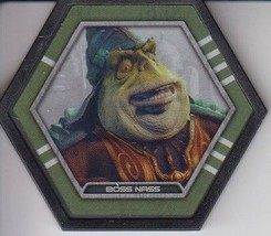 Boss Nass 2016 Topps Star Wars Galactic Connexions Uncommon Black Disc - $0.99