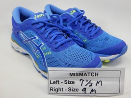 MISMATCH Asics Gel Kayano 24 Size 7.5 M Left & 9 M Right Women's Running Shoes