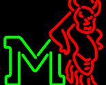 Ncaa marshall thundering herd neon sign 16  x 16  1 thumb155 crop