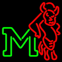 NCAA Marshall Thundering Herd Neon Sign image 1
