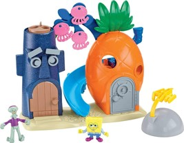 Fisher Price Spongebob Squarepants Imaginext Bikini Bottom Exclusive Pla... - $99.99