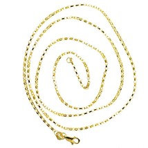 Solid 14K Rose Gold Mens Cable Link Chain 3.5 mm Authentic 27.77 gram 30 in - $1,333.00
