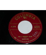 Jeanette Hicks Just Like In The Movies Such A Wonderful Feeling 45 Rpm R... - $39.99