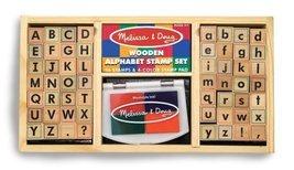 Melissa & Doug Deluxe Alphabet Stamp Set - $17.63