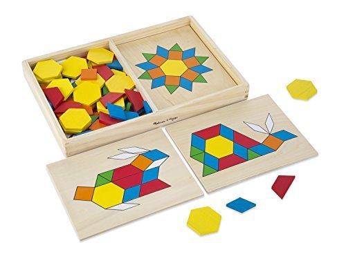 Melissa & Doug Pattern Blocks and Boards - $18.80