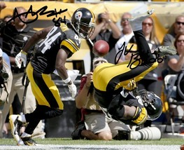 Antonio Brown Le'veon Bell Signed Photo 8 X10 Rp Autographed Pittsburgh Steelers - $19.99