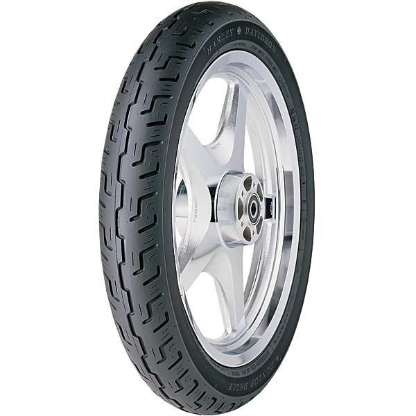 New Dunlop D401 Harley Davidson Front Blackwall Tire 90/90H19