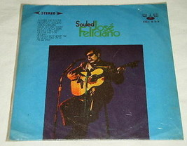 Jose Feliciano Taiwan Import Record Album Souled Vintage - $24.99