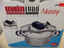 Main Tuna Nessy Collection Pressure Cooker #70271 UPC:8695503170217 - $68.31