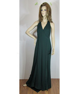 Lauren Ralph Lauren Dark (Eng) Green Sleeveless Maxi Dress, Size 10, NWT - $97.99