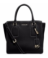 NWT Michael Kors Selby Medium Top Zip Leather S... - $284.05