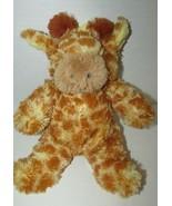 Just Pretend Kids baby plush musical crib hanging pull giraffe rock a by... - $17.81